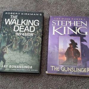 The Walking Dead/Stephen King books